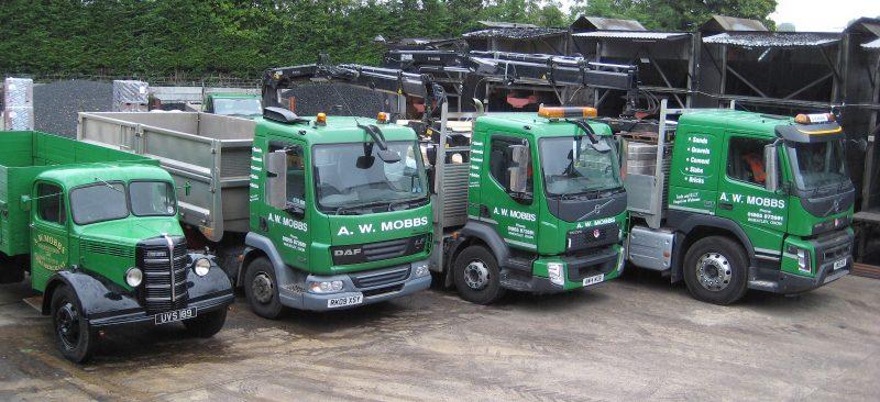 AW Mobbs Truck Fleet