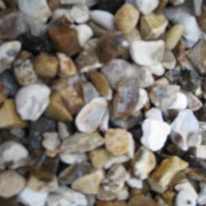 20mm black and white flint