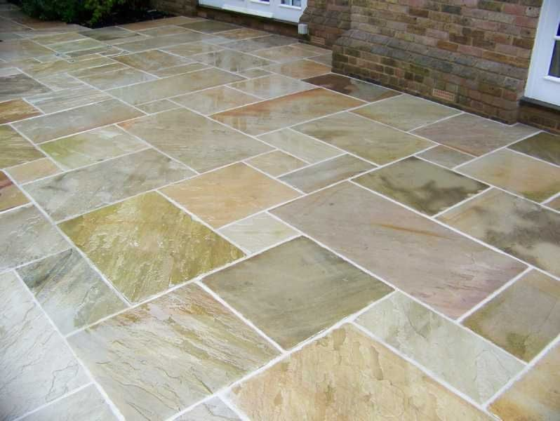 natural indian sandstone fossil mint  buff  calibrated 22mm